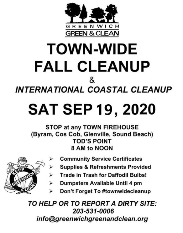 Town-Wide Fall Cleanup 2020